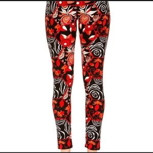 Pants - NWT Floral Print Leggings S/M and L/XL